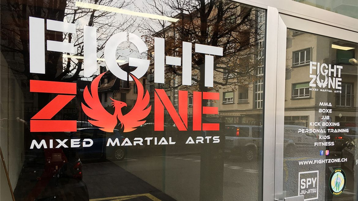 PPS LAUSANNE FIGHT ZONE VITRINE