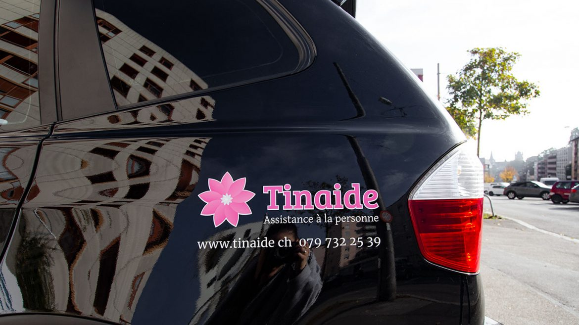 PPS LAUSANNE TINAIDE MARQUAGE VEHICULE