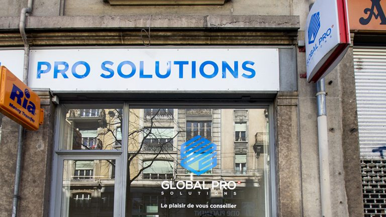 PPS LAUSANNE Globalpro vitrine