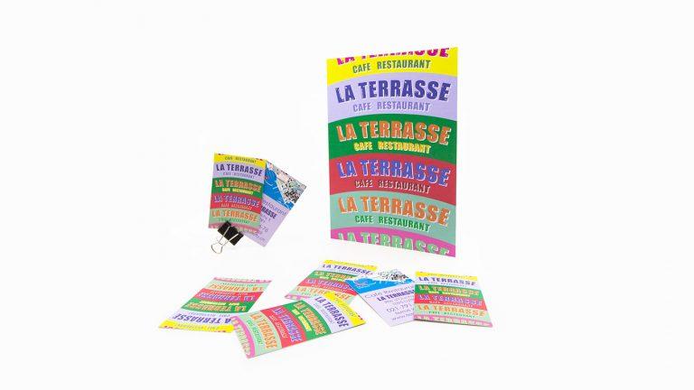 PPS LAUSANNE La Terasse IMPRESSION PAPETERIE