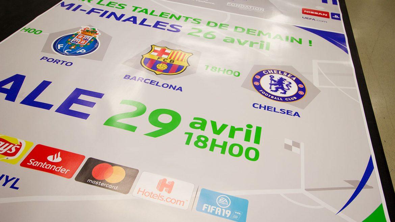 PPS LAUSANNE UEFA Affiche