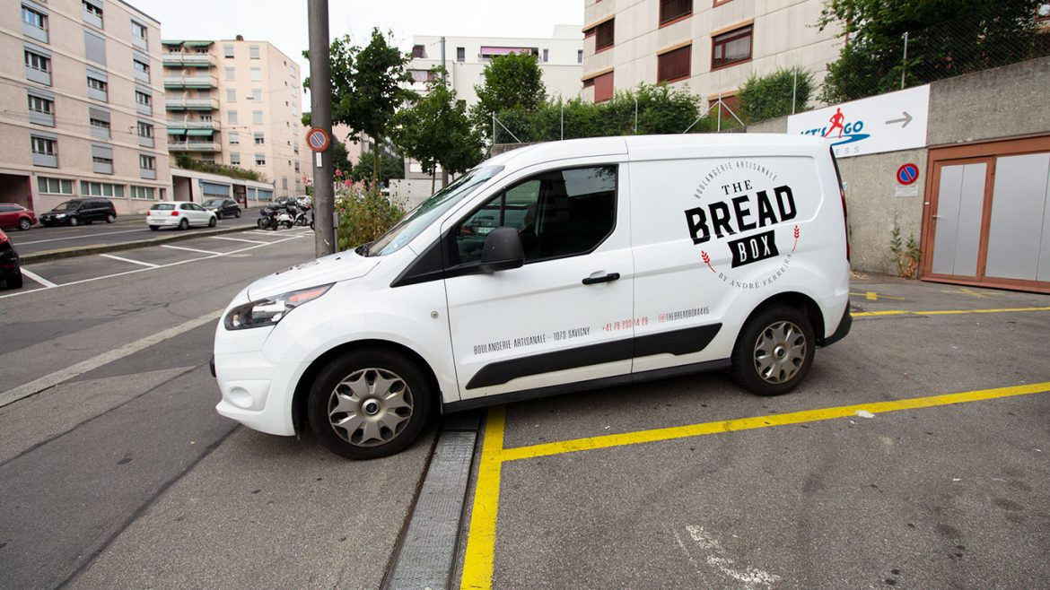 PPS LAUSANNE BREADBOX MARQUAGE VEHICULE